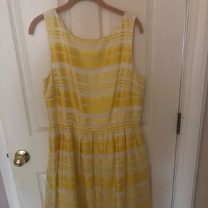 Lilly Pulitzer silk striped dress size 14